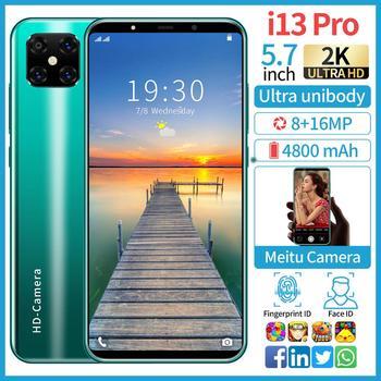 SOYES i13 pro smartphones 10core 1GB RAM 16GB ROM Discount phone HD camera face ID Unlocked mobile phones gps Wifi cheap celular