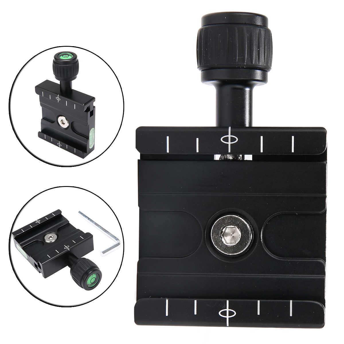 QR-50 Clamp Quick Release Plate For Arca SWISS Manfrotto Gitzo Tripod Ball Head Camera Quick Release Plate Accessories