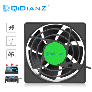USB Cooling Fan for Android TV Box Wireless Silent Quiet Cooler DC 5V USB Power Radiator Mini Fan For H96MAX X96 T95 Set Top Box