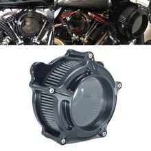 Воздухоочиститель RSD Clarion, воздушный фильтр, матовый черный для Harley Sportster XL Dyna FXDLS Touring Electra Road Glide Softail Fat boy