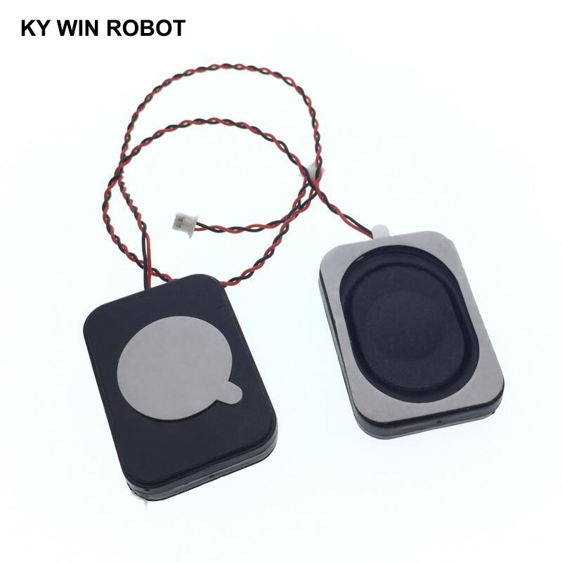 2pcs New Electronic Dog GPS Navigation Speaker Plate 8R 2W 8ohm 2W 2535 25*35*6mm With 1.25mm Terminal Wire Length 13CM