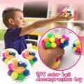 3pc Farbe Sensorischen Spielzeug Büro Stress Ball Druck Ball Stressabbau Spielzeug 2ml Zappeln Spielzeug Erwachsene Squishy Juguetes anti Stress