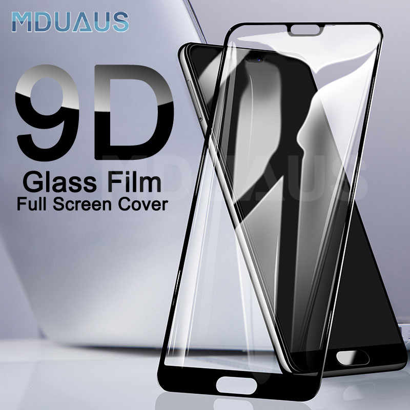 9D Protective Glass on the For Huawei P20 Pro P10 P9 Lite Plus Tempered Screen Protector For Huawei P Smart 2019 Glass Film