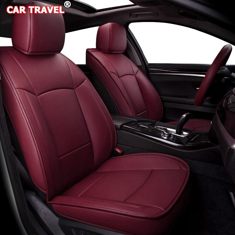Faire des housses de siège de voiture en cuir sur mesure pour CHANGAN CS35 CS75 CS15 CS95 CS55 Benben EV MINI LOVE Yuexiang V3 V5 V7 CX20