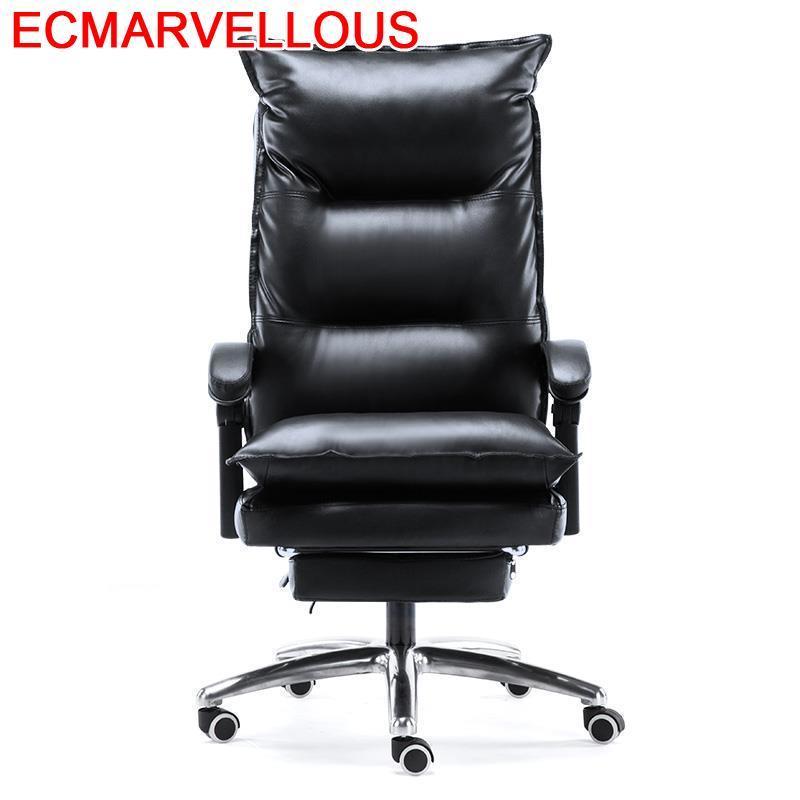Ufficio Sandalyeler Taburete Meuble Sillon Bureau Oficina Y De Ordenador Leather Office Poltrona Silla Gaming Cadeira Chair