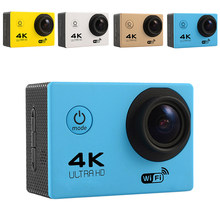 Ultra HD 4K Action Camera Wifi Camcorders 16MP 170 Go Cam 4K Deportiva 2 Inch F60 Waterproof Sport Camera Pro 1080P 60fps Cam(China)