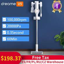 Xiaomi Dreame V9 Handheld Cordless Vacuum Cleaner 20000Pa Cyclone Suction Filter Dust Collector for Home Promo Code V9P V10(China)