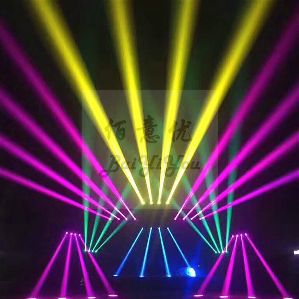 Image 5 - 2pcs High Bright 17R 350W Beam Moving Head Light DMX Focus Beam 380 DJ Stage Lighting 2 Rotate Prism Disco Light With 2In1 CaseStage Lighting Effect   -