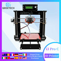 Geeetech I3 Pro C 3D принтер Impressora двойной экструдер LCD2004 GT2560 материнская плата доставка от DE RU US AU impresora 3d3d печать