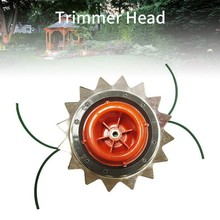 Lawn Mowers Head Grass Trimmer Brush Cutter Garden Strimmer Mower High Hardness Double Accessories