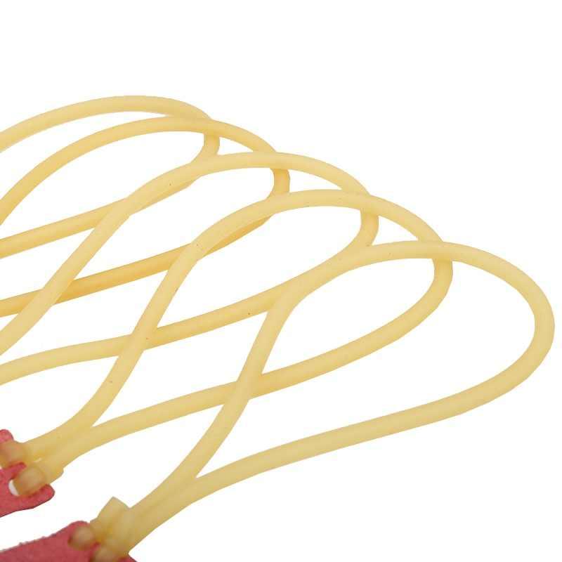 50 unids/bolsa elástica catapulta arco Honda caza goma banda Honda tubo flexible accesorios para tirachinas nuevo Color al azar nuevo