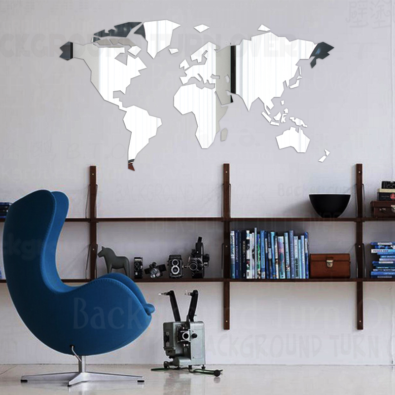 Mirror Wall Stickers Sticker…