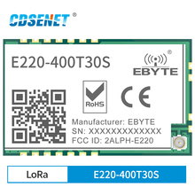 Lora-Module Ipex-Antenna 433mhz Transmission Wireless Spectrum 30dbm UART E220-400T30S