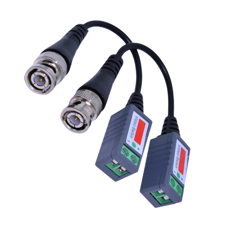 10pair 20pcs/lot  Twisted Video Balun Passive Transceivers 3000FT Distance UTP Balun BNC Cable Cat5 CCTV UTP Video Balun SP99