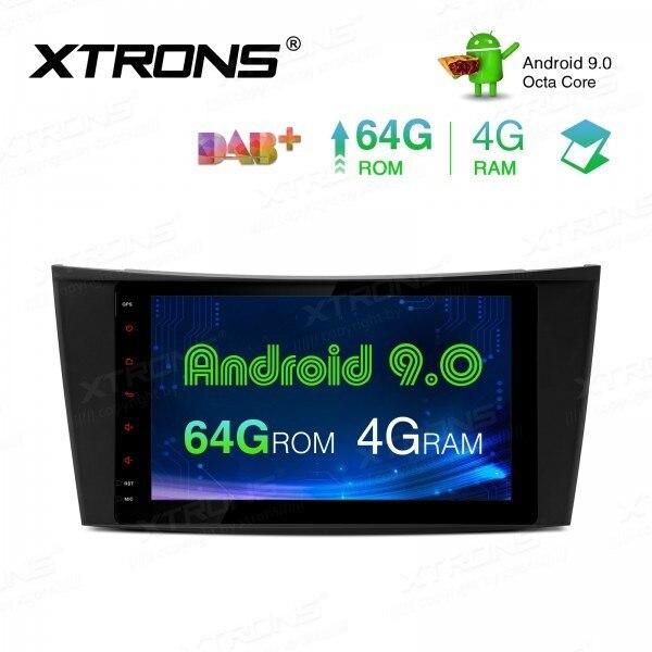 """8 """"Android 9,0 PX5 4 gramos auto Radio multimedia GPS para Mercedes Benz Clase E W211 E200 E220 E240 e270 E280 2002-2008 W219 NO DVD"""