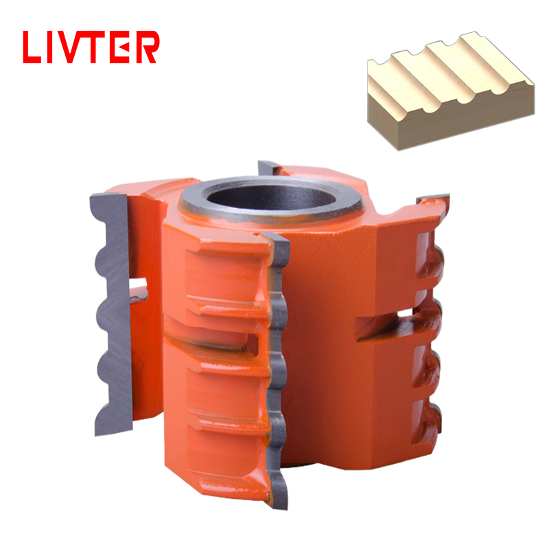 LIVTER Precise Wood Shaper Cutter Grooving Blade Knife Wood Planer Spare Parts