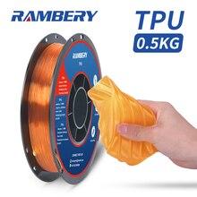 Filament 3d-Printing-Material TPU Plastic White Flexible Shore 95A
