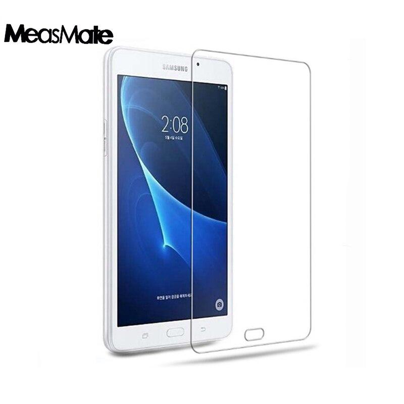 Protecteur d'écran pour Samsung Galaxy Tab A A6 10.1 2016 Verre trempé pour Galaxy Tab A 10.1 SM-T580 SM-T585 SM-587 SM-t585