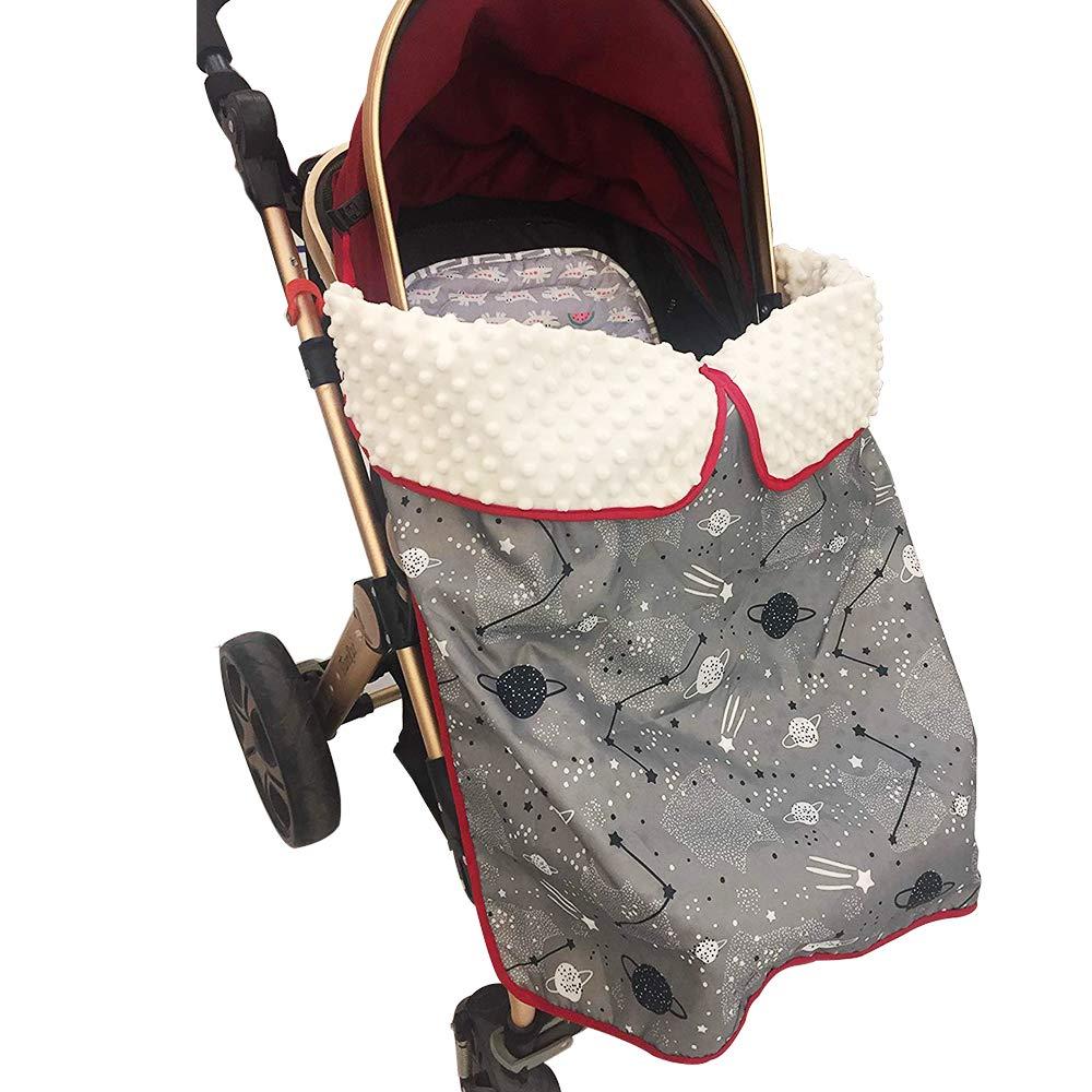 Waterproof Baby Car Seat Cover 75*75cm Winter Windproof Stroller Blanket Baby Wrap Blanket Toddler Sleeping Blanket Universal
