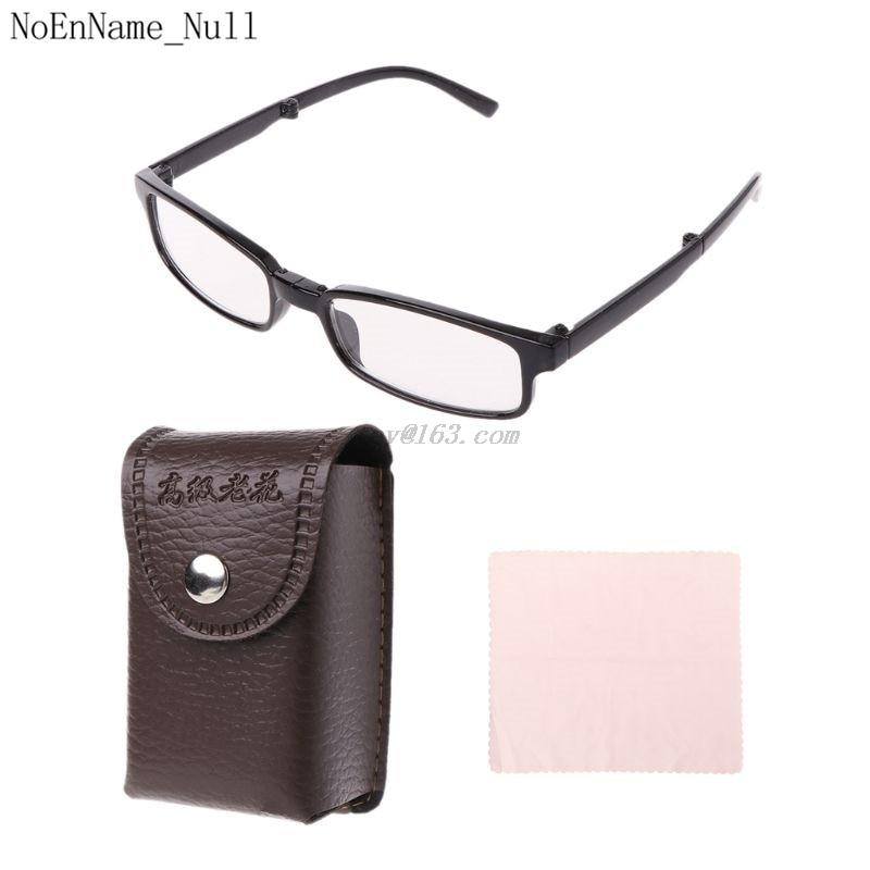 Unisex Foldable Reading Glasses Folding Spectacles Eyeglass Presbyopia Readers +1 +1.5 +2 +2.5 +3 +3.5 +4.0