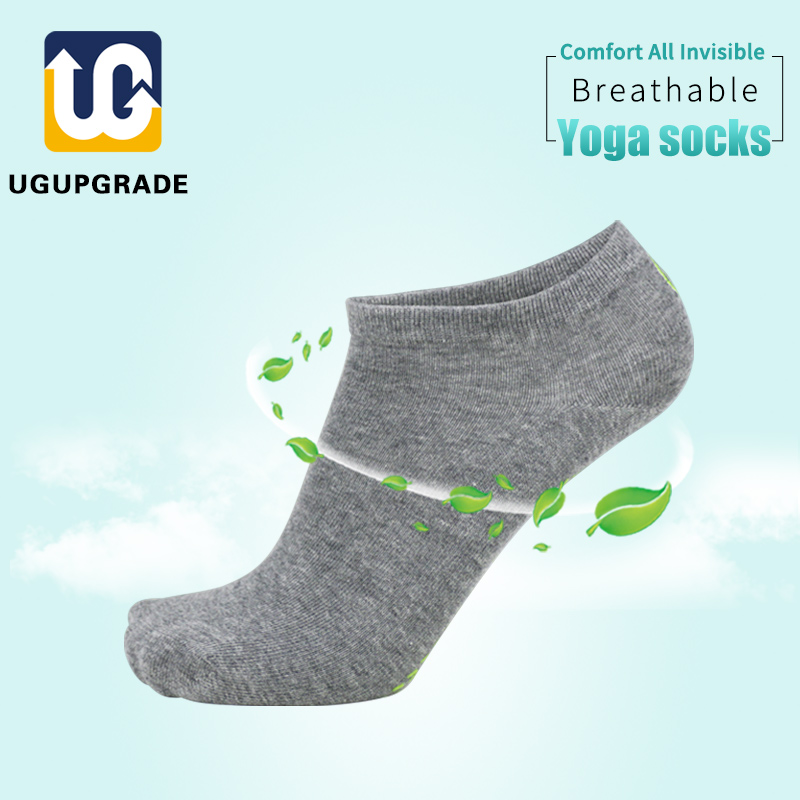 UGUPGRADE Yoga Sport Socks Quick-Dry Anti-slip Damping Bandage Pilates Ballet Socks Good Grip Men&Women Cotton Socks