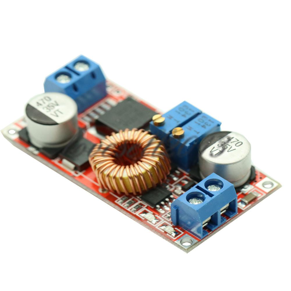 DC-DC Adjustable Max 5A Constant Voltage Step Down Buck Charging Board XL4015 Lithium Battery Charger Converter Module 0.8-30V