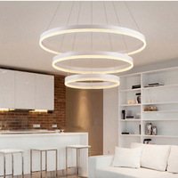 sitting room Nordic light led the bedroom light contracted and modern office light acrylic chandelier wholesale