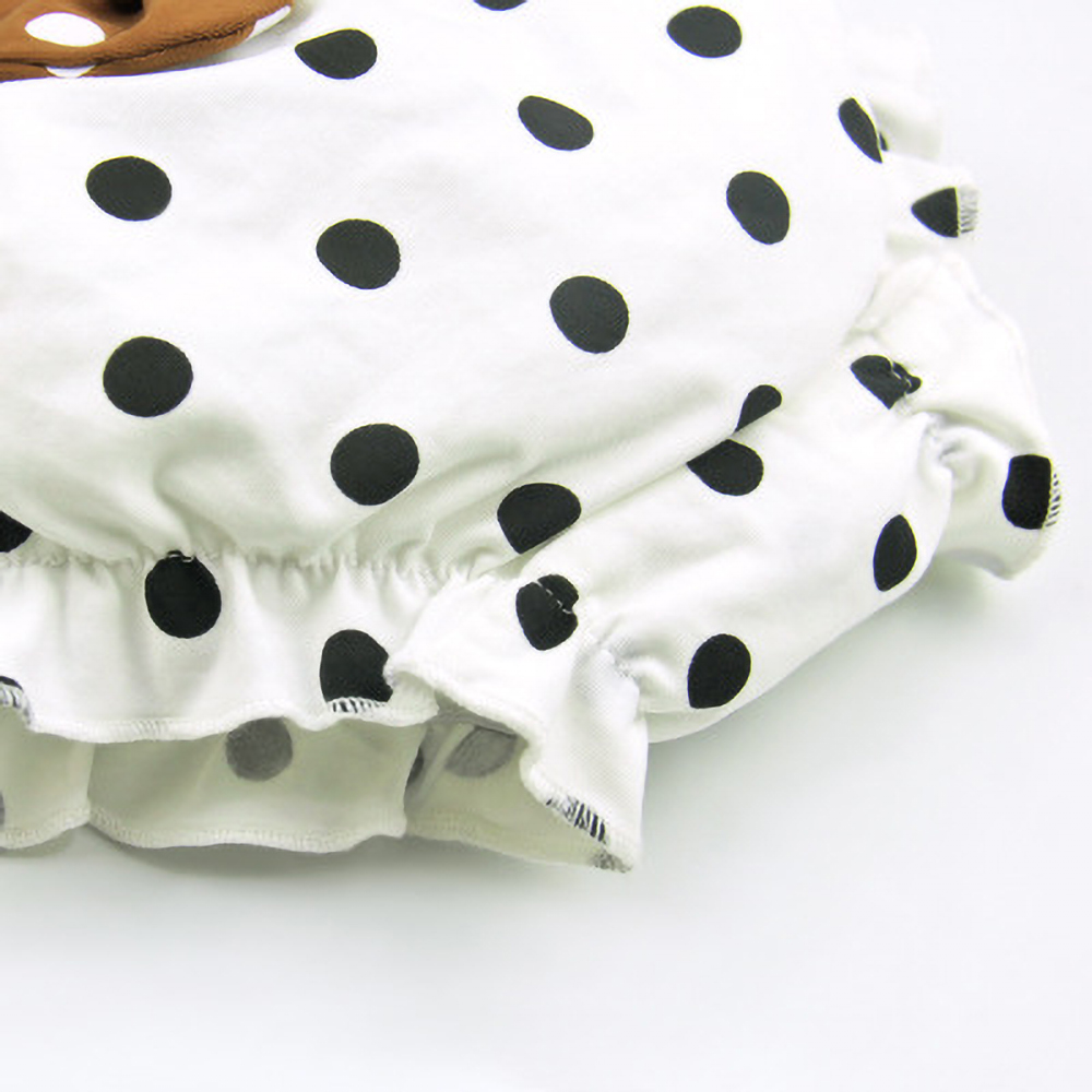 Infant Underwear Cotton Baby Panties Girl Infant Cute Big Bow Dots Shorts for Children Fashion Underpants Summer Shorts 0-2Y