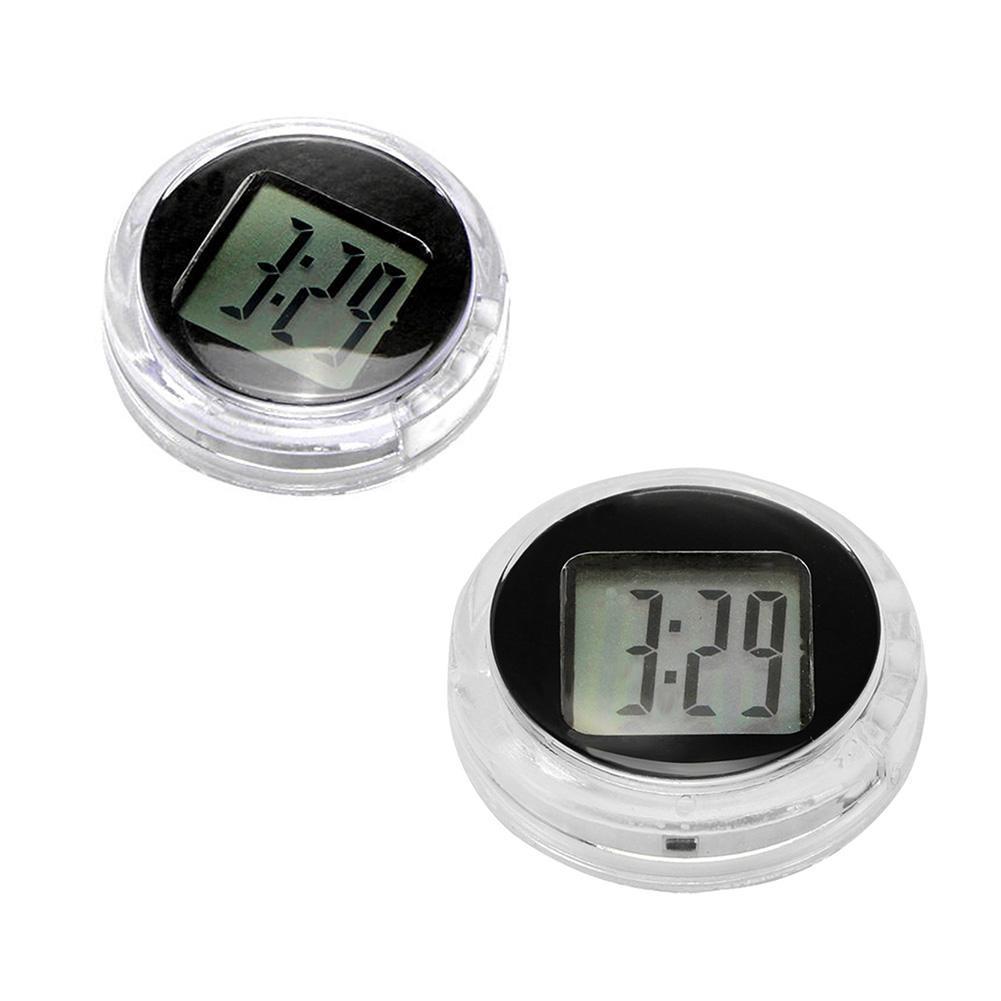 New Mini Precision Motorcycle Clocks Watch Waterproof Stick-On Motorbike Mount Watch Moto Digital Clock With Stopwatch