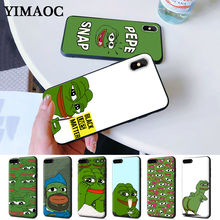 the Frog meme pepe Colorful Cute Silicone Case for iPhone 5 5S 6 6S Plus 7 8 11 Pro X XS Max XR