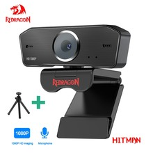 REDRAGON GW800 HITMAN USB HD-Webcam Eingebautes Mikrofon Smart 1920 X 1080P 30fps Web-Cam-Kamera für Desktop-Laptops PC-Spiel