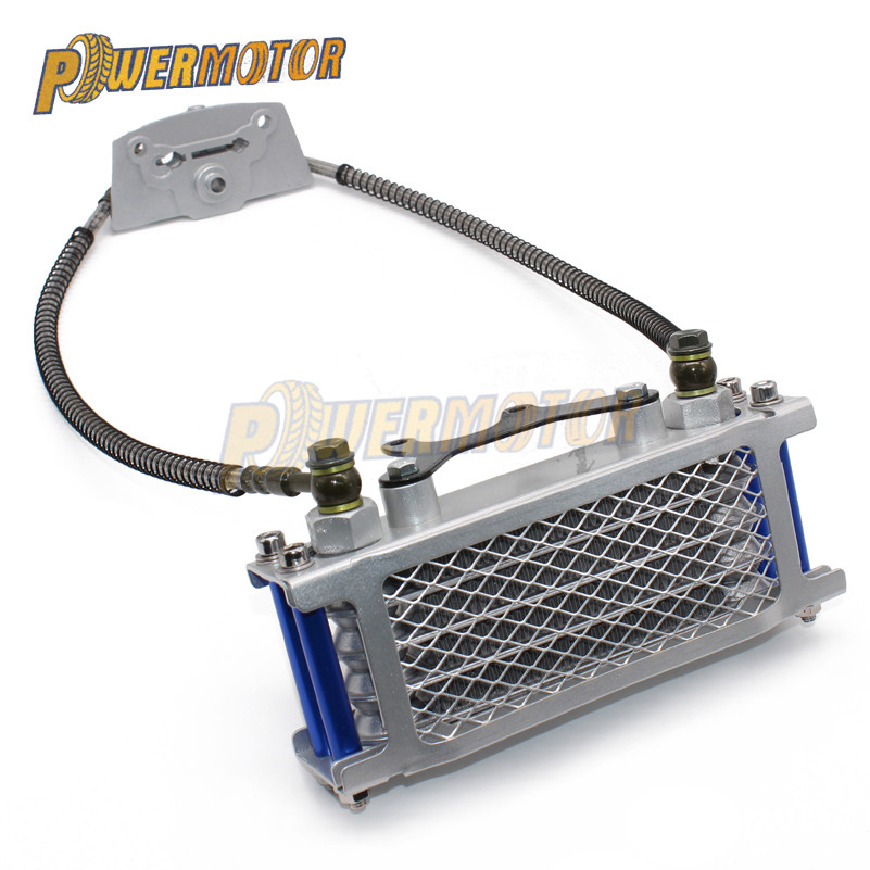 Motorcycle <font><b>Engine</b></font> Oil Cooler Radiator For Kayo Loncin Zongshen <font><b>Lifan</b></font> Shineray Yinxiang Bosuer Xmoto 50CC 70CC 90CC <font><b>110CC</b></font> <font><b>Engine</b></font> image