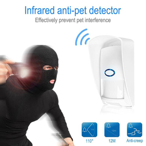 Image 4 - JeaTone 433Mhz Wireless PIR Sensor Infrared Outdoor Motion Detector with Pet Immune Waterproof for Home Security Alarm System