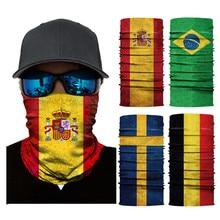 Наружный головной платок для рыбалки, ветрозащитные банданы, УФ-защита, маска для лица, для кемпинга, пешего туризма, велоспорта, головные уборы, бандана, трубчатый шарф
