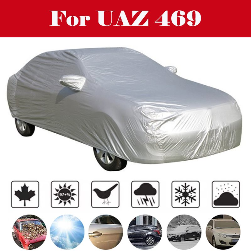 automatic Car Umbrella Sunshade Tent Roof Cover Anti-UV Hot Protection Outdoor Protector Sun Shade Summer For <font><b>UAZ</b></font> <font><b>469</b></font> image