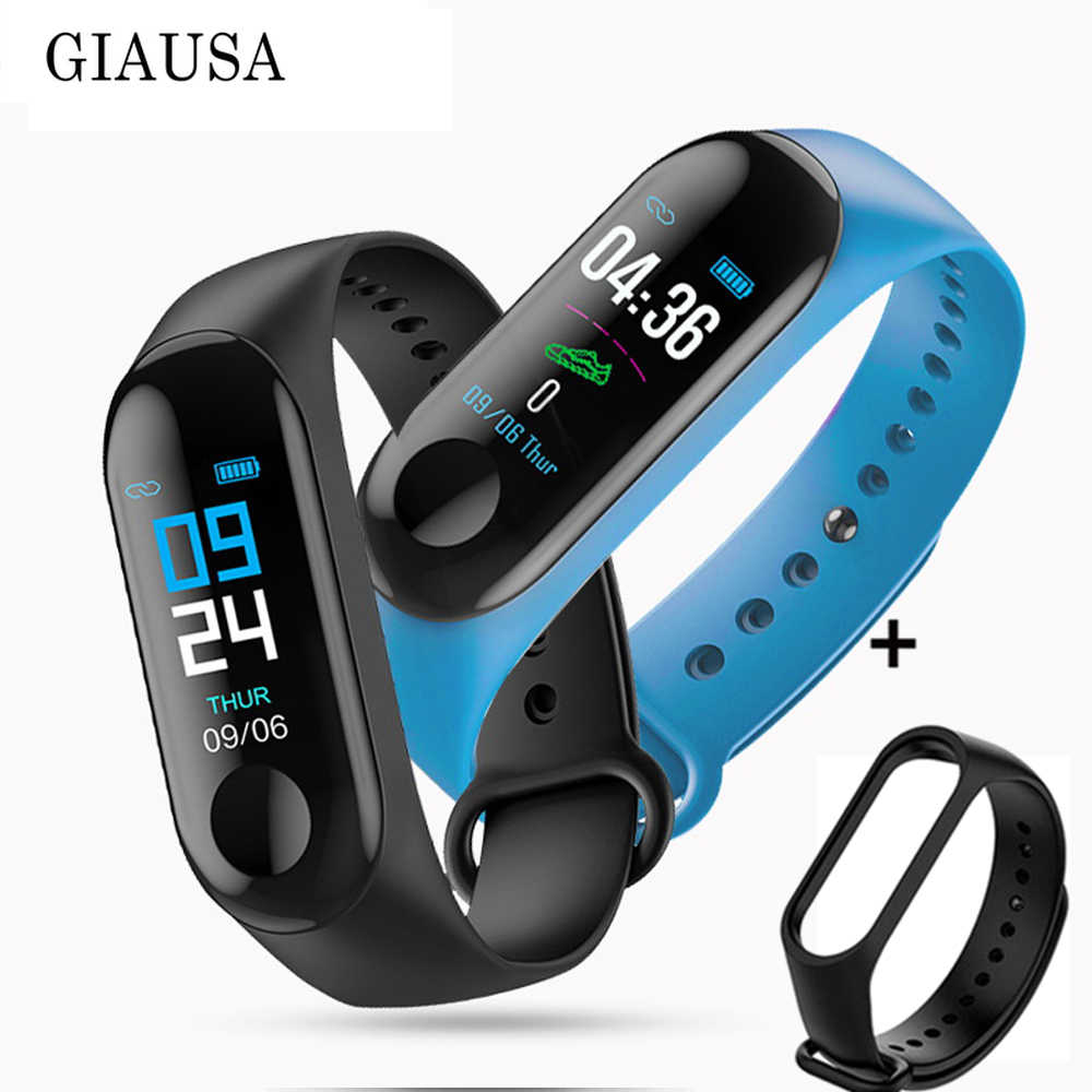 M 3 Fitness Armband Mannen Vrouwen Bloeddruk Band Hartslag Bluetooth Wrist Smart Armband voor Xiao mi 4 Android IOS freestrap