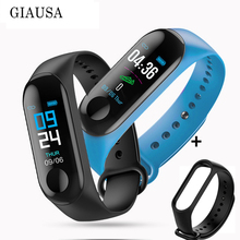 M 3 Fitness Bracelet Men Women Blood Pressure Band Heart Rate Bluetooth Wrist Smart for Xiao mi 4 Android IOS freestrap