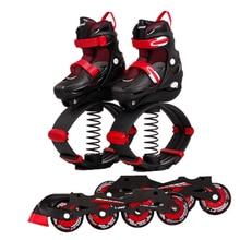 Jumping Shoes Kangaroo Kids Hot for Teenager Inline-Skates Sports 2-In-1