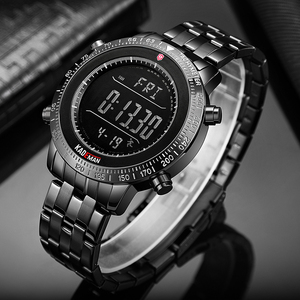 Image 5 - KADEMAN Men Watch Sport Male LED Digital Watches 3TAM Full Steel Fashion Full Steel Wristwatches TOP Brand Relogio Masculino 849