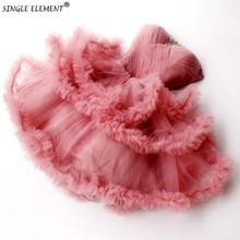 Beauty Ruffles Sweetheart Coral Pink Tiered Short Tutu Cocktail Dresses