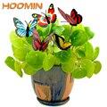 HOOMIN Bunte Schmetterling Stakes Outdoor Decor Garten Liefert 5 Pcs/Bündel Schmetterling Blumentöpfe Dekoration Mit Pile-in Dekorative Einsätze & Windspinner aus Heim und Garten bei