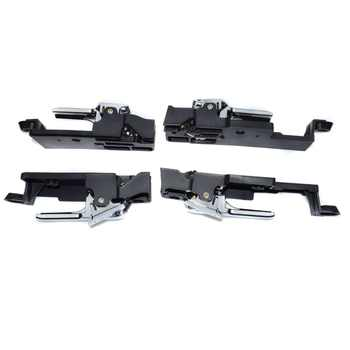 ISANCE Inside Door Handle Front Rear Left Right Set For Lincoln MKZ 07-12 / Zephyr 2006/ Ford Fusion 06-12/ Mercury Milan 06-11