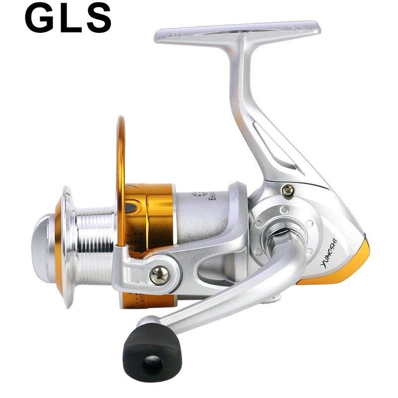 2020 GLS marka BL serisi Rocker kolları değiştirilebilir eğlence seyahat çıkrık balıkçılık makaraları