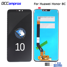 лучшая цена Original 6.26'' LCD For Huawei Honor 8C LCD Display Touch Screen Digitizer Assembly For Honor Paly 8C BKK-AL10 BKK-L21 LCD