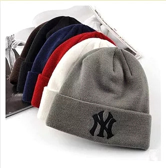 Knitted Beanie Hat Skull-Hat Couples Warm Autumn Winter Soft Women Adult And Y-Wool Wholesale