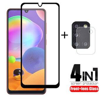 Перейти на Алиэкспресс и купить 4-в-1 для Samsung Galaxy A31 стекло для Samsung A31 закаленное стекло для Samsung A51 A71 A01 A50 M21 M31 A11 A41 A31 стекло объектива