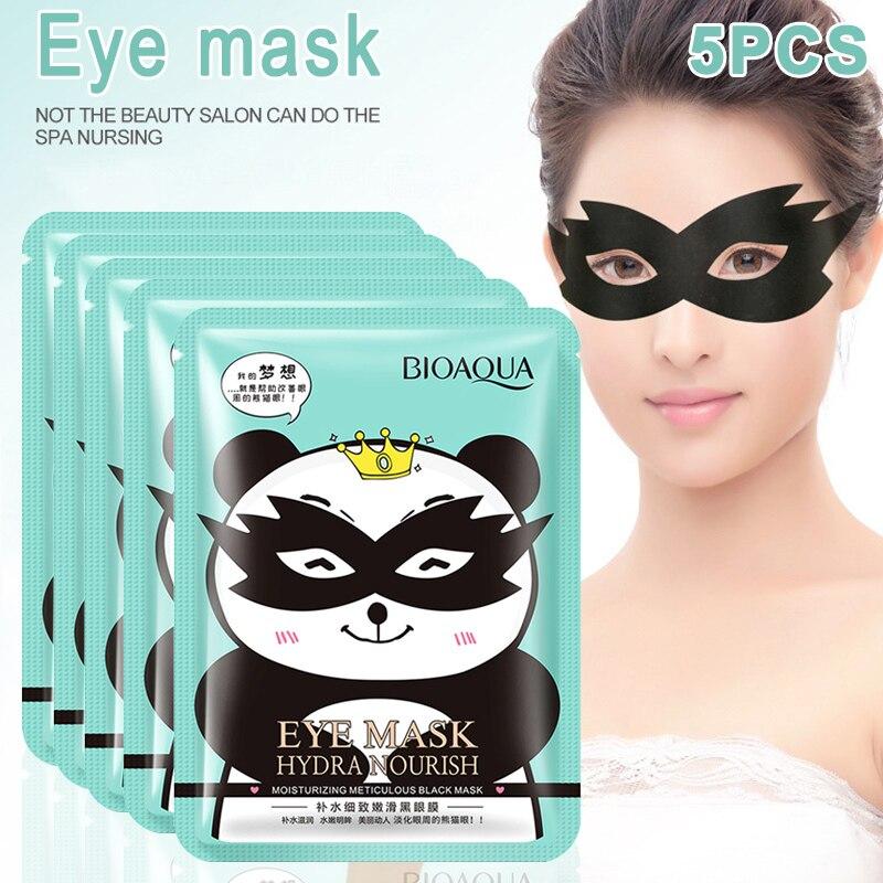 Eyes-Mask Remove-Dark-Circle Hydrating Anti-Wrinkles-Moisture Black CD88 5pcs