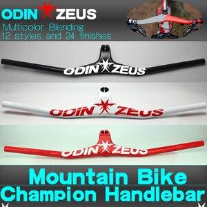 Image 5 - Syn Custom Champion MTBจักรยานจักรยาน 17องศารูปรวมกับ3Kสีดำคาร์บอนMTB Handlebar