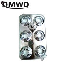 DMWD 6 głowy ultrasoniczny dyfuzor Fogger nawilżacz powietrza nebulizator dyfuzor fontanna staw Atomizer hydroponika parownik