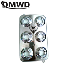 DMWD generador de niebla ultrasónica de 6 cabezales, humidificador de aire, nebulizador, difusor, fuente de agua, estanque, atomizador, vaporizador hidropónico